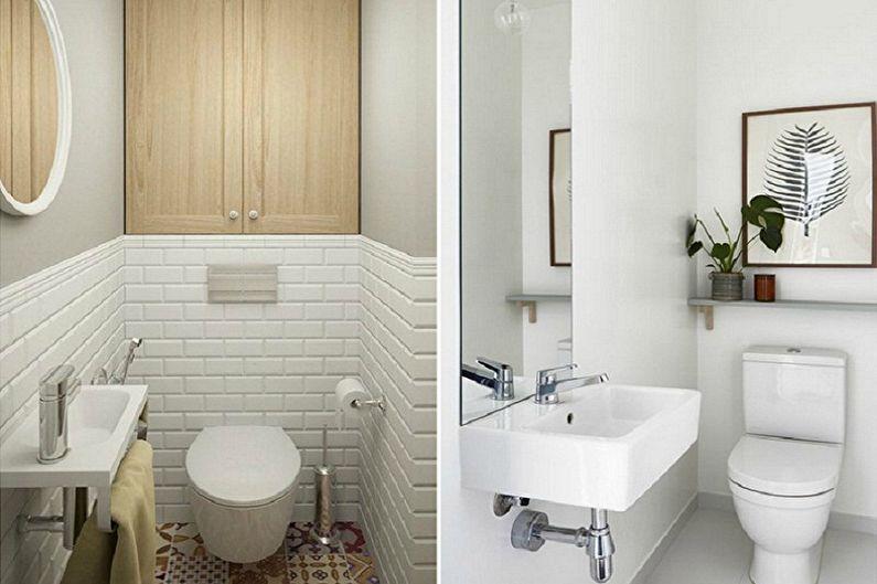 Дизайн туалета в хрущевке (80 фото)