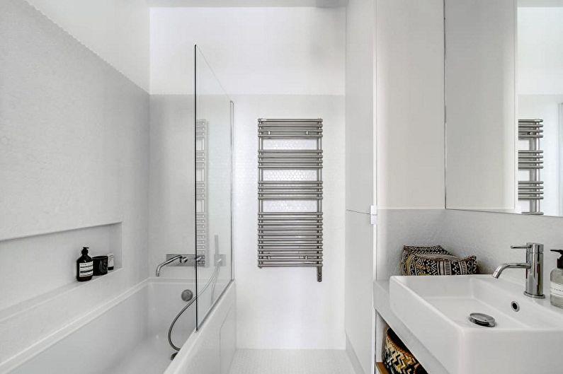 Маленькая ванная комната (100 фото) - дизайн интерьера, идеи для ремонта и отделки санузла