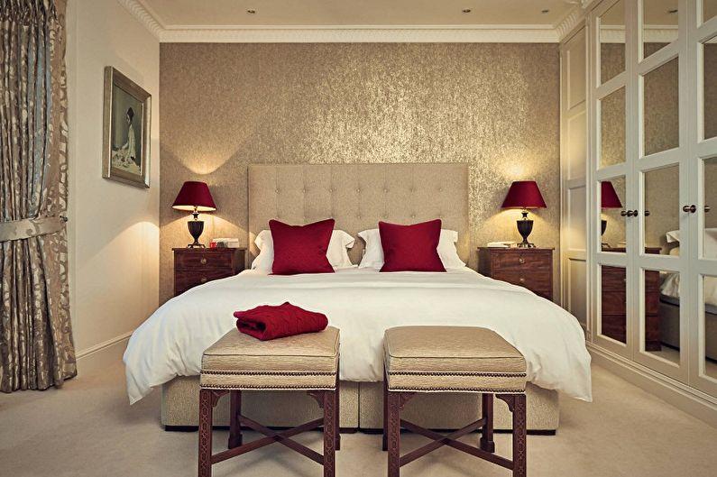 Цвет обоев для спальни (80 фото) - идеи дизайна, как выбрать