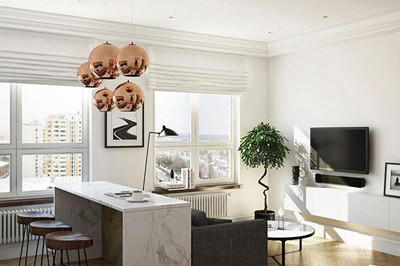 Дизайн квартиры 36 кв.м., ЖК Филиград - фото 3