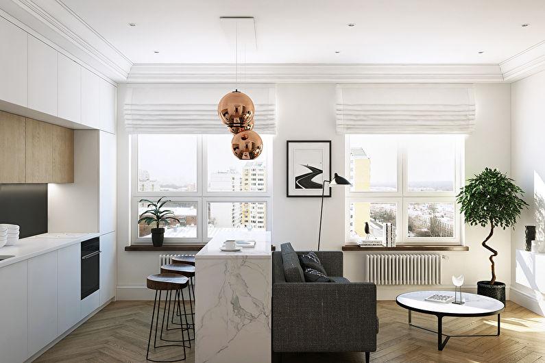 Дизайн квартиры 36 кв.м., ЖК Филиград - фото 4