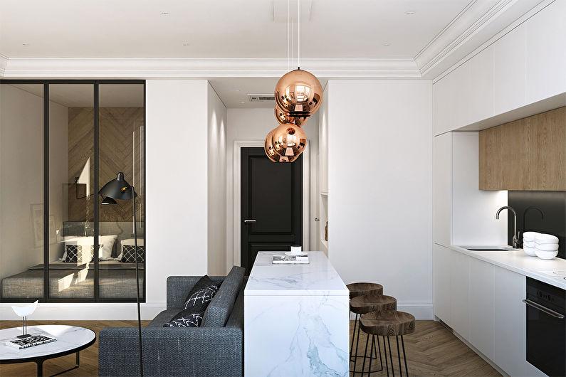 Дизайн квартиры 36 кв.м., ЖК Филиград - фото 5