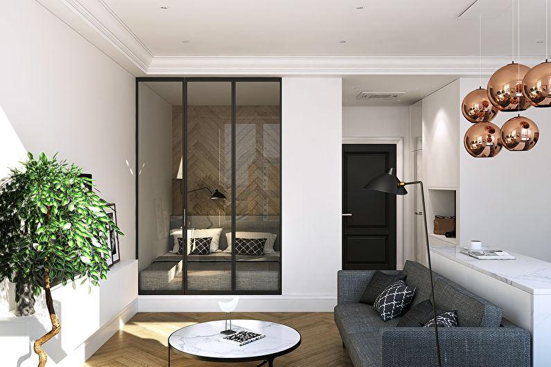 Дизайн квартиры 36 кв.м., ЖК Филиград - фото 6
