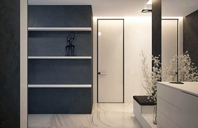 Современный интерьер квартиры в Obolon Residence - фото 6