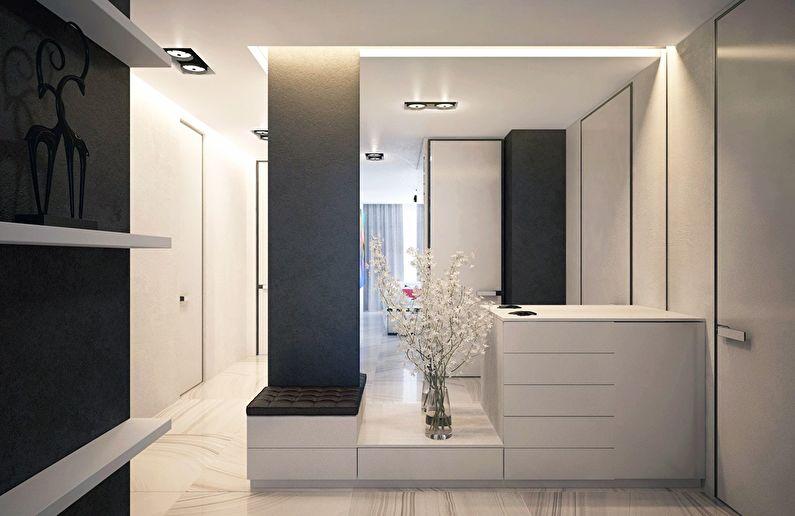 Современный интерьер квартиры в Obolon Residence - фото 7