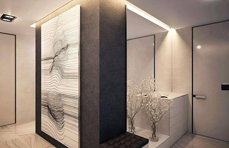 Современный интерьер квартиры в Obolon Residence - фото 8