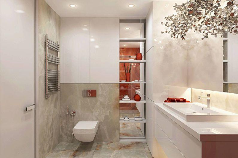 Современный интерьер квартиры в Obolon Residence - фото 11