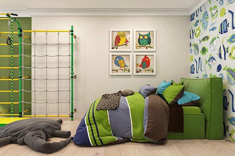 Современный интерьер квартиры в Obolon Residence - фото 12