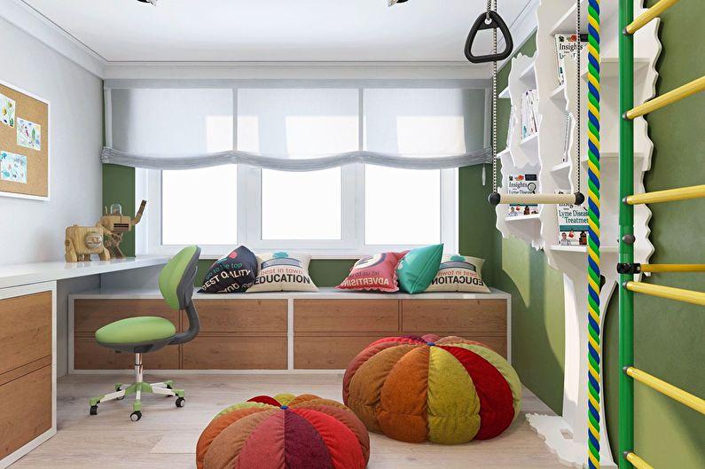 Современный интерьер квартиры в Obolon Residence - фото 13