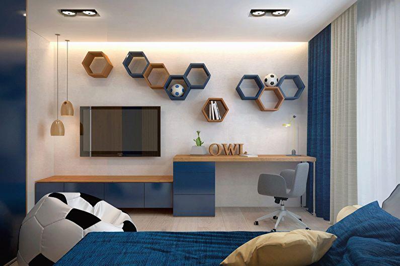 Современный интерьер квартиры в Obolon Residence - фото 16