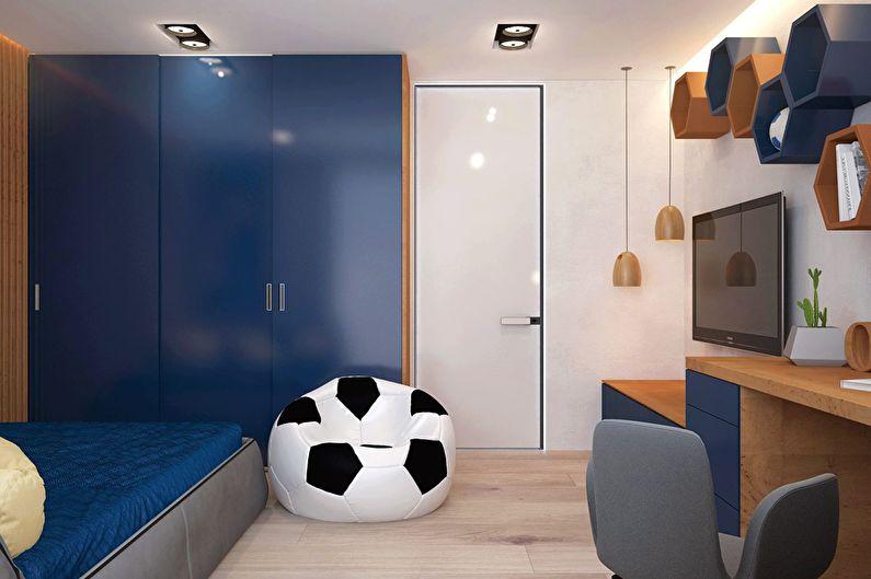 Современный интерьер квартиры в Obolon Residence - фото 17