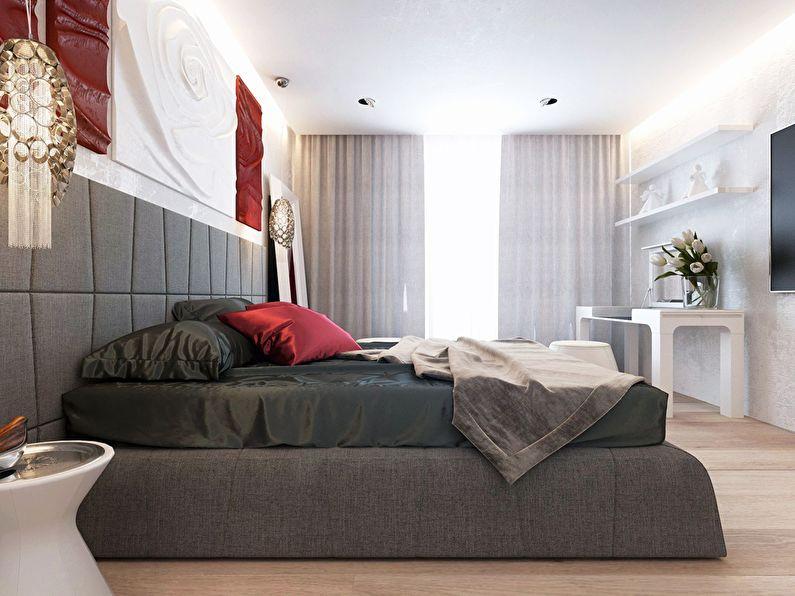 Современный интерьер квартиры в Obolon Residence - фото 19
