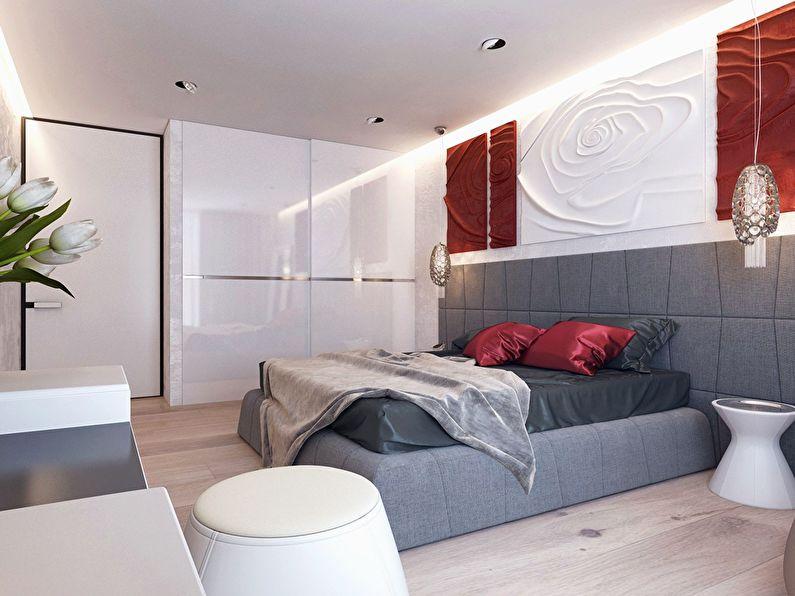 Современный интерьер квартиры в Obolon Residence - фото 20