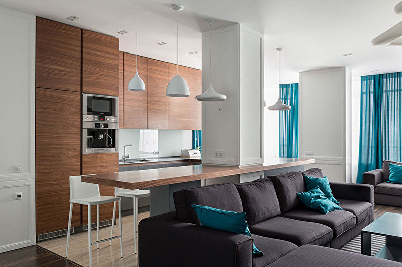 Skyline Apartment — интерьер квартиры в Харькове от SVOYA Studio