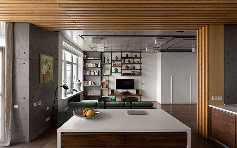 Вишня — интерьер квартиры от студии Sergey Makhno Architects